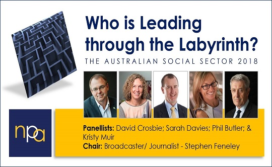 Leading through the Labrinyth: the Australian social sector 2018